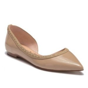 Sam Edelman Leather Half D'Orsay Flats